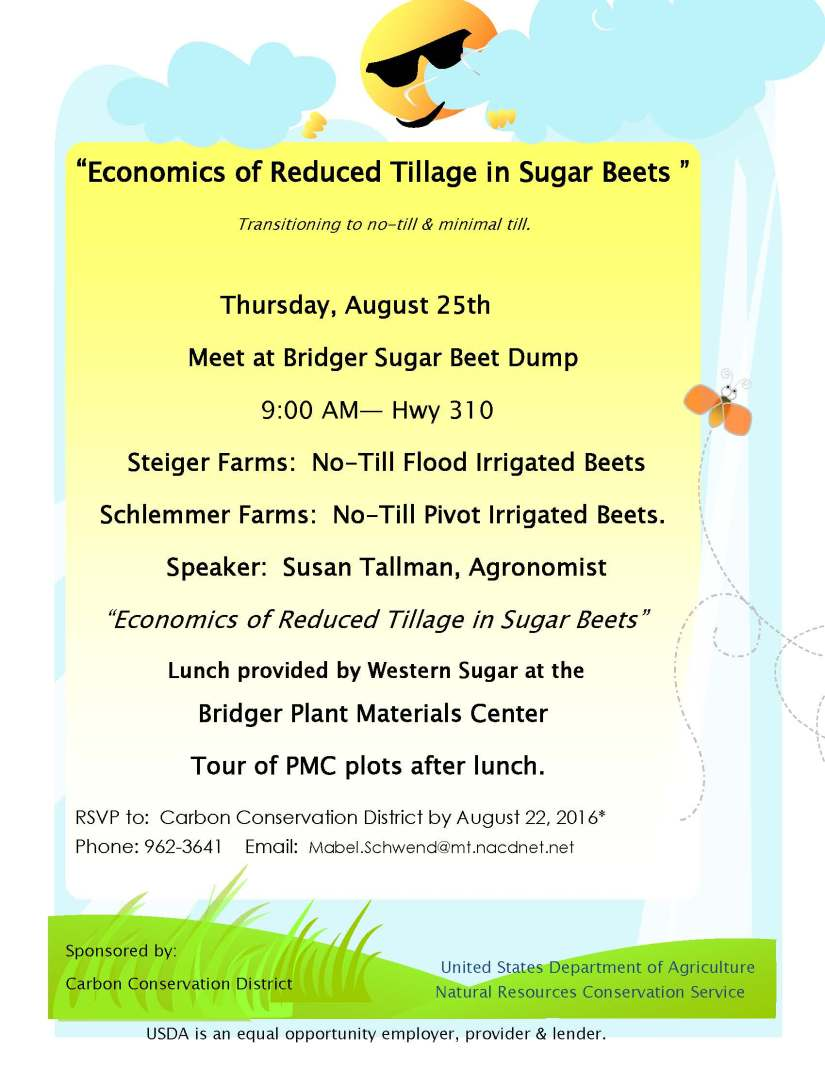 Economics of Reduced Tillage poster