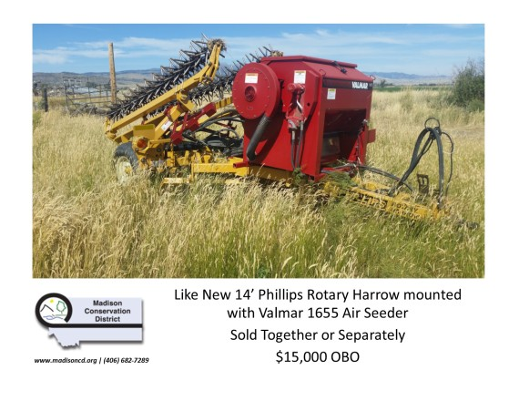 Harrow_Seeder for Sale